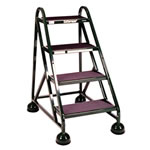 Ladder is a vertical or inclined set of rungs or steps.