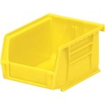 Hang / Stack Bin, 5-3/8 IN. L, 4-1/8 IN. W, 3 IN. H, Yellow